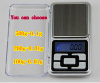Wholesale 500g x g Mini Electronic Digital Jewelry weigh Scale Balance Pocket Gram LCD Display With box
