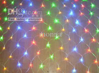 Wholesale 2pc M M SMD Led Net Night LED Mesh String Light LED Star Light for Christmas Party O W