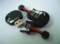 Wholesale 2013 Guitar GB USB Flash Memory Stick Pen Drive U Disk Guitar U disk