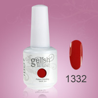 Wholesale 84colors ml IDO Gelish Soak Off UV Nail Gel Polish gelih