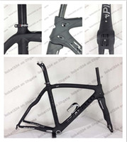 Wholesale Fit DI2 Pinarello DOGMA BOB black Full Carbon Road bike frames Bicycle Frame Gifts