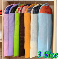 Wholesale Dress Clothes Garment Suit Cover Bag Dustproof Jacket Skirt Storage Protector