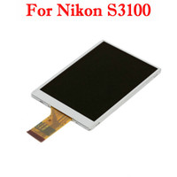 Wholesale LCD Screen Display With Backlight For Nikon S3100 Brand New