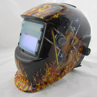 Wholesale Sexing nice Li Battery Solar Auto shading darkening welding helmet mask Electric welding mask goggle