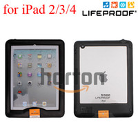 Wholesale Case Cover Stand for iPad Life Waterproof Water Shock Dirt Proof Best Quality AAA