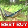 Wholesale Army Nylon Travel Camping Swing Parachute Hammock Sack