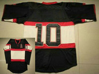 Wholesale Third Black Classic Ice Hockey Jerseys On Field Authentic Sportswear Jerseys