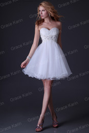 Wholesale New Arrival Luxury Beading Dresses Sweetheart Appliques Party Gown Homecoming Dress CL3820
