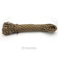Wholesale New FT lb paracord strand Dynamic Safety rope Auxiliary Accessory Cord Climbing Camping