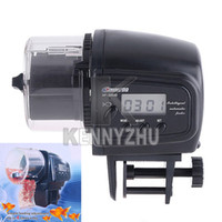 Wholesale Automatic Auto Aquarium Tank Fish Pet Food Feeder Timer Digital Feeding AF D