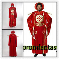 Wholesale Factory Real Sample High Quality Custom Made Cheap Red Flash Gordon Ming Cosplay Costumes