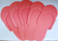 Hotel pedicure slippers - Disposable Pedicure Foam Slippers Flip Flop pairs