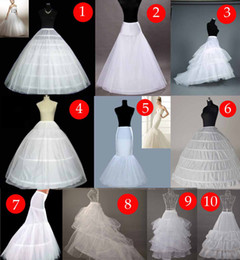 2019 Cheap Bridal Petticoat Wedding Dresses Underskirt For Women Formal Gowns Hot Sale Mermaid   Ball Gown Free Shipping