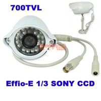 Wholesale TVL Effio E Sony CCD IR LED With Night Vision and Waterproof Surveillanc