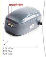 Wholesale The electromagnetic vibrating air pump W mute oxygen pump fish tank fish aerator pump