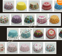 Wholesale wedding party baking cups cupcake liners muffin cases paper cake cup