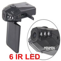 Wholesale 2 quot Color LCD IR LED HD h198 Car DVR Camera Recorder Continuous recording time hours