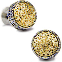 Wholesale Platinum Plated Stanislaus men s Cufflinks gift metal buttons