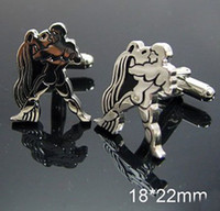 aquarius shirt - Brand new fashion aquarius shaped Shirt cuff Cufflinks drop shipping for men s gif