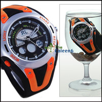 Wholesale Dive Multifunction Surface High Quality New Arrival Fashion Wrist Sport Digital Silicon Watch Colorf
