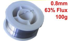 Tin Lead Rosin Core Solder Wire Reel Soldering Welding 0.8mm 63% 100g DIY NEW