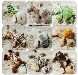 NICI Pencil Case Jungle lion Tiger Giraffe Monkey cheetahs plush toy Pencil Case Cosmetic Bag