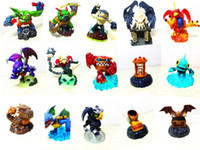 Wholesale Skylanders Spyro Adventure Pack loose Characters Game Figures Doll Toys Sunburn Winged Boot Etc