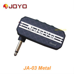 Wholesale JOYO JA Metal Sound Mini Guitar Amp Pocket Amplifier Micro Headphone mm Jack MU0058