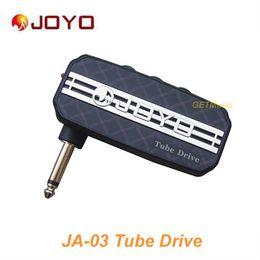 Wholesale JOYO JA Tube Drive Sound Mini Guitar Amp Pocket Amplifier Micro Headphone mm Jack MU0059