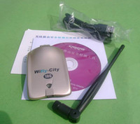 USB 54Mbps Wireless High quality Wifly-City 10G 2.4GHz 1000mW Wireless WIFI USB Adapter 802.11b g IDU-2850UG Level Up