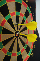 Wholesale 15 inch safety darts magnetic dart board dual sided target home fitness equipment for children