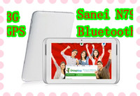 Wholesale HOT SANEI N79 G inch quot Dual Core GPS Phone Call Bluetooth Android Tablet PC WiFi Dual Camera