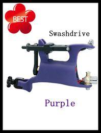 Wholesale Pro Purple Rotary Tattoo Machine Gun Liner amp Shader Swashdrive Tattoo Machine Pemier Strong Silent
