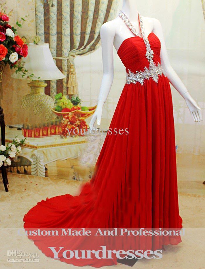 Halter Dress Red Carpet 2013 Luxury Red Carpet Dresses