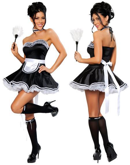 Sexy english maid uniforms