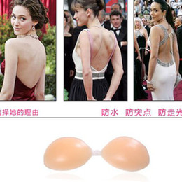 Wholesale Hot Sale women nude bra silicon nubra strapless Invisible bras A B C cups ladies shape bra