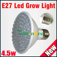 Wholesale E27 RED and BLUE LED W Hydroponic Plant Grow Growth LED Light Bulb