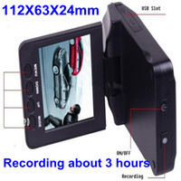 1 channel 2.5 LED 2.5'' Car DVR H198 night version Car Video Recorder Camera 6 IR LED 1 channe Recording about 3 hours