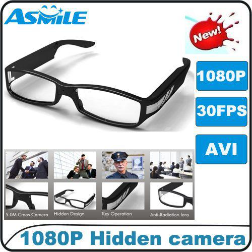 1080p Clear Fashion Glasses Camera Hot Sale New P HD Hidden