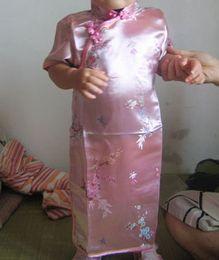 Imitated Silk Evening Girls Dress Cheongsam Prom Dresses Qipao gown Party dress 30 pcs lot #2522