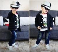 Boy babys coat - Autumn boy Jackets Fleeces baby Coat Kid Clothing kids outerwear babys Long sleeve Children clothes