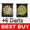 Wholesale 11 quot Magnetic Rollup Dart Board Set Strong Safe Darts