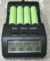 aa battery charger lcd - 4 AA AAA Rechargeable Intelligent Digital Battery Charger Tester LCD Multifunction DHL FREE AB3115