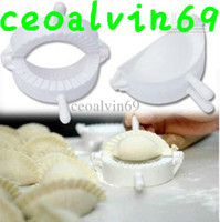 Wholesale Chinese Meat Ravioli Empanada Dumpling Pie Pastry Gyoza Mould Maker Jiaozi Maker Kitchen DIY Tool