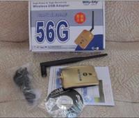 USB 54Mbps Wireless Best price High Power Wifly-City 56G 54Mbps 1000mW 6dBi USB 2.0 Wireless Adapter Wifi Lan Card