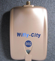 USB 54Mbps Wireless High quality Wifly-City 56G 54Mbps 1000mw 6dBi USB Wireless Adapter Wifi Antenna 8187L Chipset