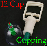 Wholesale 2Pcs Chinese Medical cupping Cups Set Kit magnets Point Health Massage Acupuncture Cupping