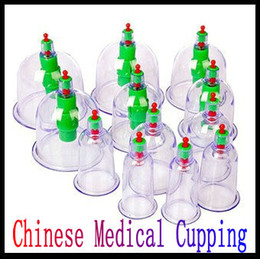 Wholesale New Chinese Medical cupping Cups Set Kit magnets Point Health Massage Acupuncture Cupping Sets