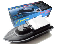 Wholesale JABO Remote Control Bait Boat Fishing Boat with Fish Finder BS