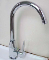 Wholesale Single Handle Single Hole Zinc Alloy Hot And Cold Kitchen Rotation Faucets Caipen Water Tap